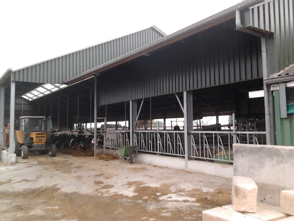 ligboxen stal aluminium dakgoot grijs afvoer pvc 2