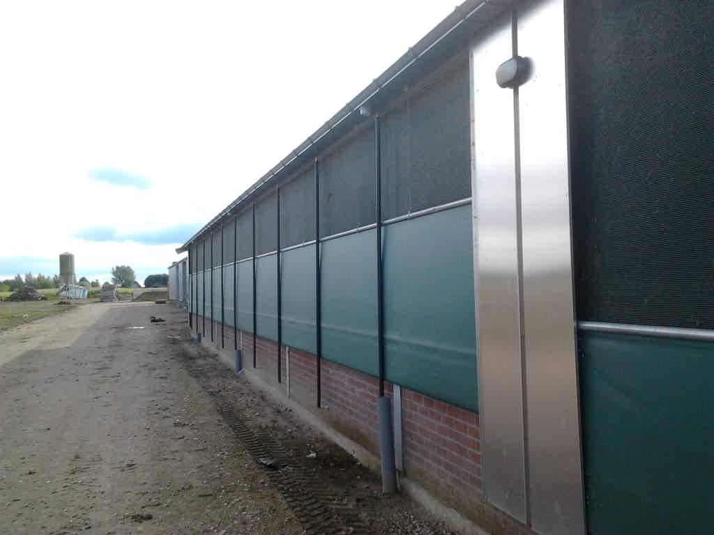 ligboxen stal aluminium dakgoot grijs afvoer pvc 3