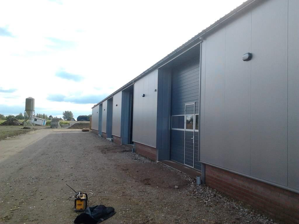 loods aluminium dakgoot grijs afvoer pvc 6