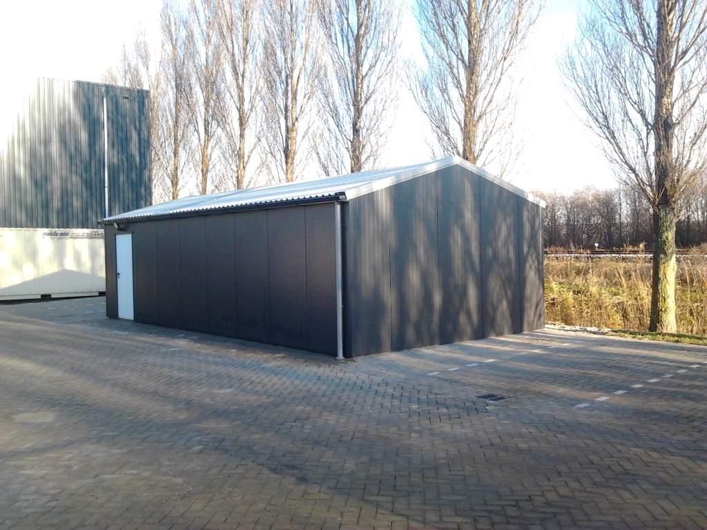 loods aluminium dakgoot zwart afvoer pvc 5